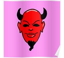 Red Devil pink (Scream Queens) Poster