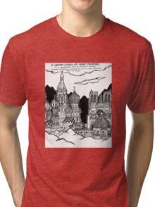 Cathedrals as Landscape Tri-blend T-Shirt