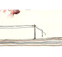 Land Line - 9 Photographic Print