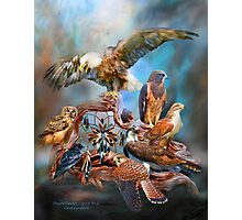 Dream Catcher - Spirit Birds Photographic Print