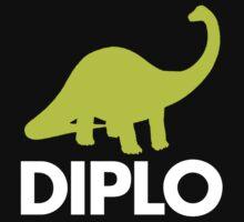 Dinosaur  - Diplo - Green & White by Don Pietro