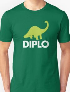 Dinosaur  - Diplo - Green & White T-Shirt