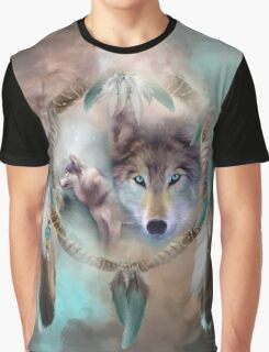 Wolf - Dreams Of Peace Graphic T-Shirt