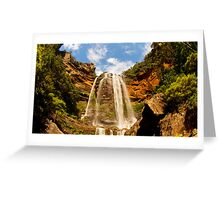 Blue Skies Over Blue Mountains Greeting Card