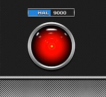 HAL 9000 by Bradley John Holland