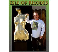 Isle of Rhodes & I Photographic Print