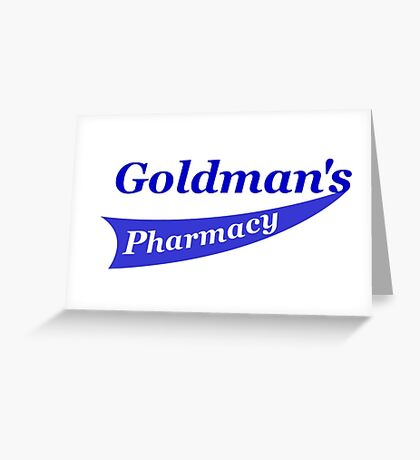 Goldman's Pharmacy Greeting Card