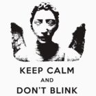 Keep Calm - Don't Blink Angel Dark by mumblebug
