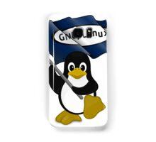W gnu/Linux Samsung Galaxy Case/Skin