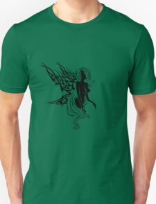 Tattoo with fairys or elf Unisex T-Shirt