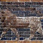 Babylonian Wall Relief by LeftHandPrints