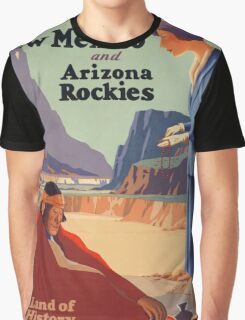 Vintage poster - New Mexico Graphic T-Shirt