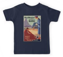 Vintage poster - New Mexico Kids Tee