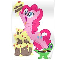 Pinkie Pie - This cake ist not a lie Poster