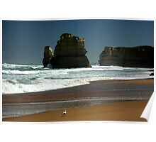 Gibson's Beach - Great Ocean Road VIC Poster