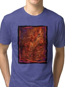flame tree Tri-blend T-Shirt