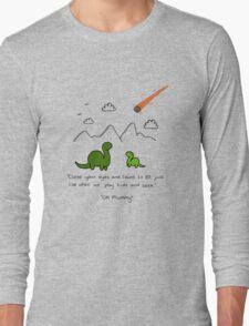 The Saddest Doodle 'Colour'  Long Sleeve T-Shirt