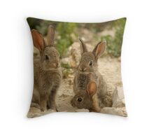 Els tres germanets Throw Pillow