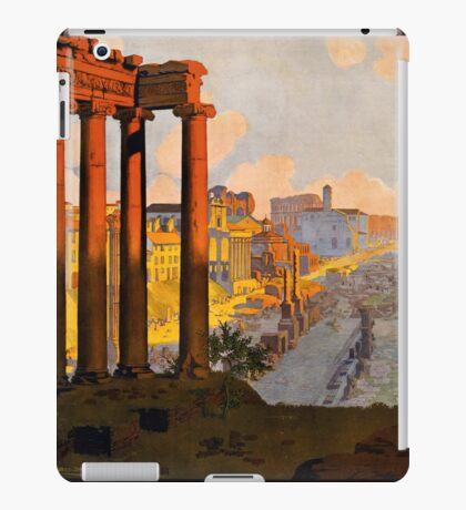 Vintage Travel Poster: Rome iPad Case/Skin