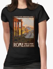 Vintage Travel Poster: Rome T-Shirt