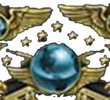 Global Supreme Legendary Eagle Master Guardian First Class Sticker