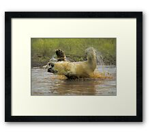 """""""Hey this is fun"""" Framed Print"""