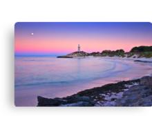 Pinky Beach Canvas Print
