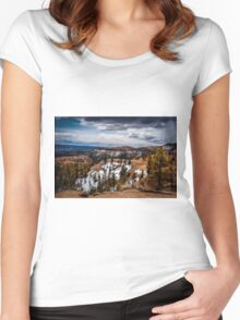 Bryce Canyon National Park, Utah USA Women's Fitted Scoop T-Shirt
