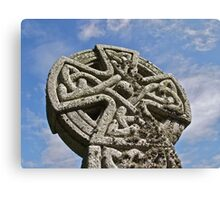 Cornish Celtic Cross Canvas Print