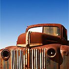 Old Truck at old gold mining town #01 by Malcolm Heberle