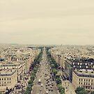Champs-Élysées by Hayleyschreiber