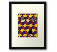 Q-Bert: The Movie Framed Print