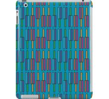 Tuning forks (Blue) iPad Case/Skin