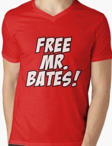 Free Mr. Bates Abbey Downton Mens V-Neck T-Shirt