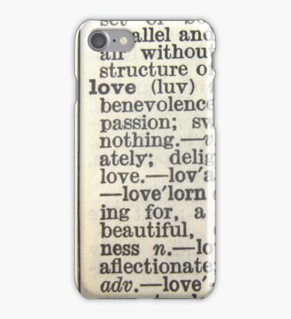 love text iphone/ipod case iPhone Case/Skin