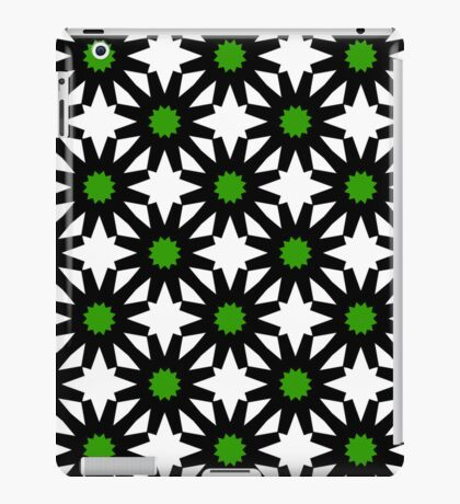 Starry night (Green) iPad Case/Skin