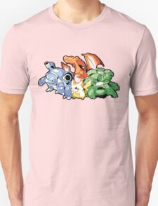 1st Generation Pokemon T-Shirt