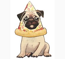 Pizza Pug Unisex T-Shirt
