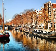 Autumn in Amsterdam by PhotoDream Art