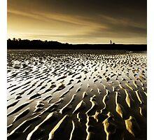 Cramond Gold Photographic Print
