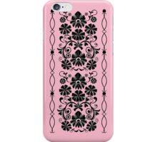 Retro damask floral case iPhone Case/Skin