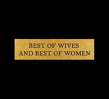 Best of Wives and Best of Women - Hamilton Musical by lighttwoods
