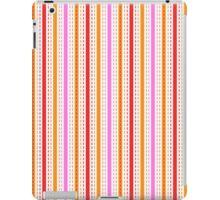 Tilkkutakki stripe 1 (Red) iPad Case/Skin