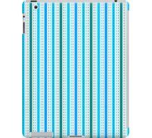 Tilkkutakki stripe 1 (Blue) iPad Case/Skin