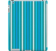 Tilkkutakki stripe 2 (Blue) iPad Case/Skin
