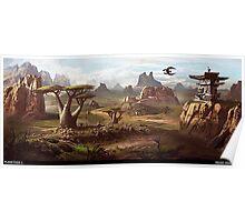 Planetside 2 - Scenery - Indar Highlands Poster