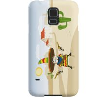 Crazy Mexican Samsung Galaxy Case/Skin