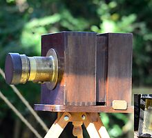 Old Camera Used During the Civil War by Photography by TJ Baccari
