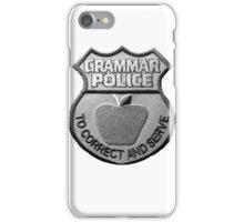 Grammar Police iPhone Case/Skin