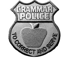 Grammar Police by Rbble